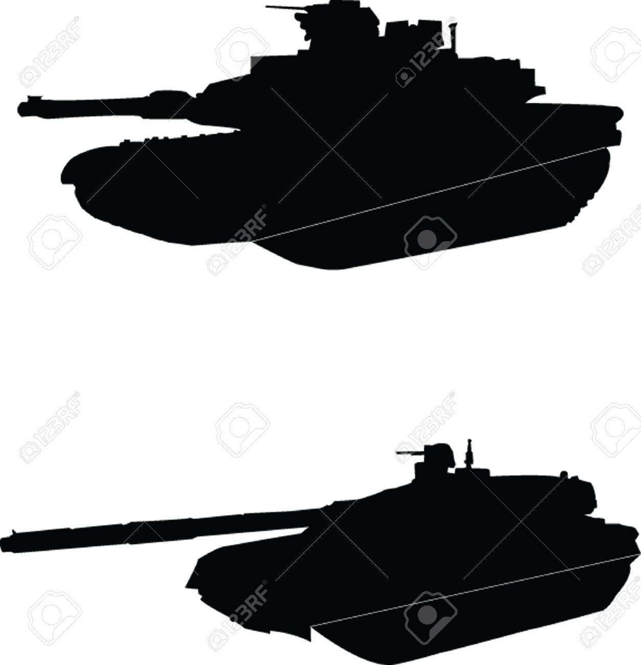 tanks Stock Vector - 5275280