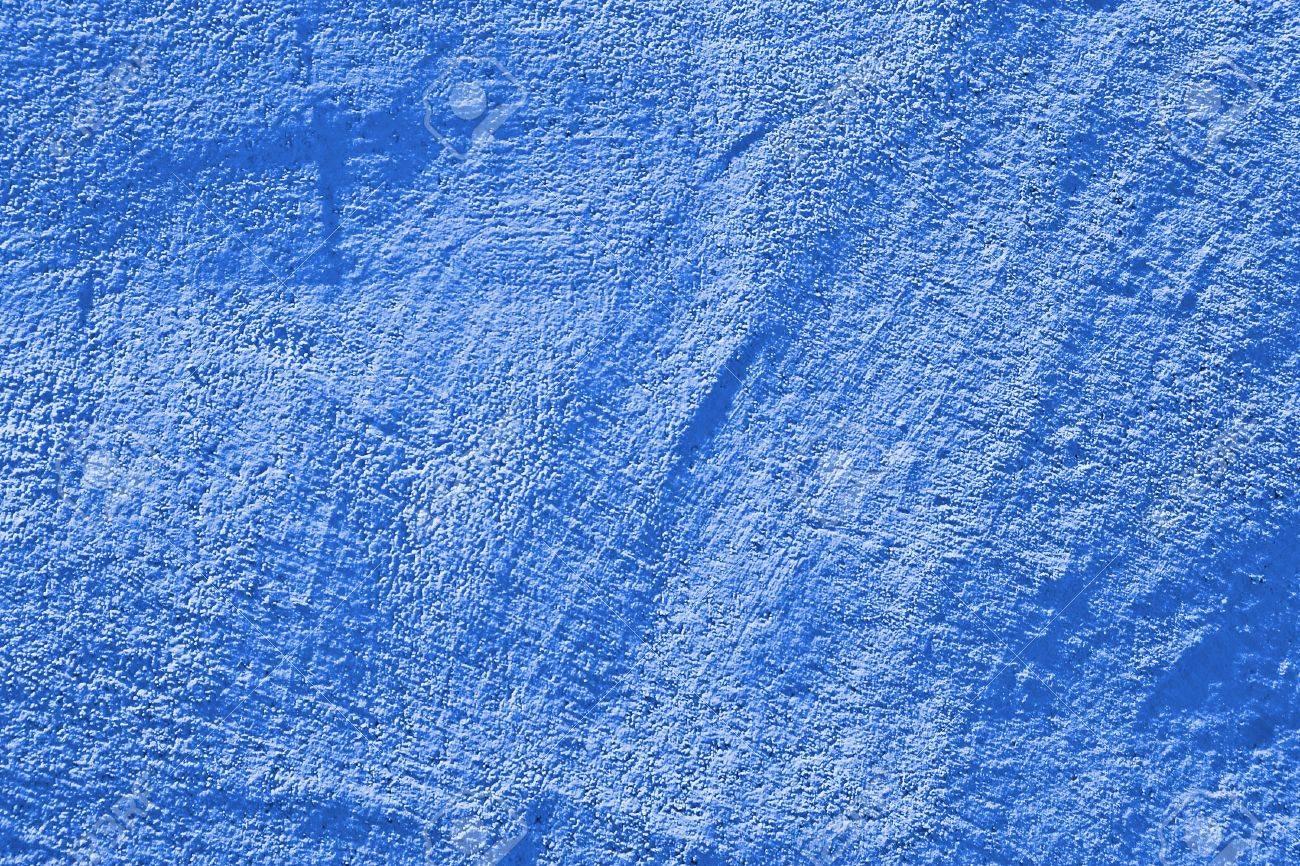 blaue wand textur. kann als hintergrund verwendet werden ... - Blaue Wand