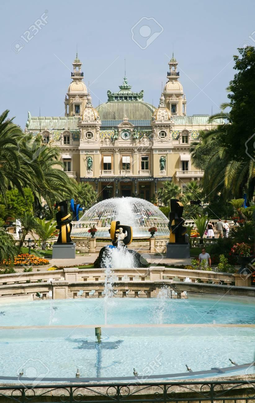 Grand Casino in Monte Carlo, Monaco on July 6, 2008 Stock Photo - 9433928