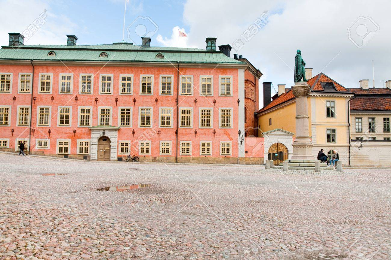 Birger Jarls Torg  - public square with Birger Jarl Stock Photo - 11025688