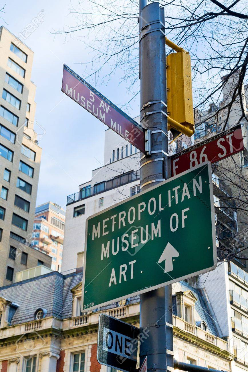 Museum Mile Crossroad Of  Ave And  East Street In NewYork - German museums in usa