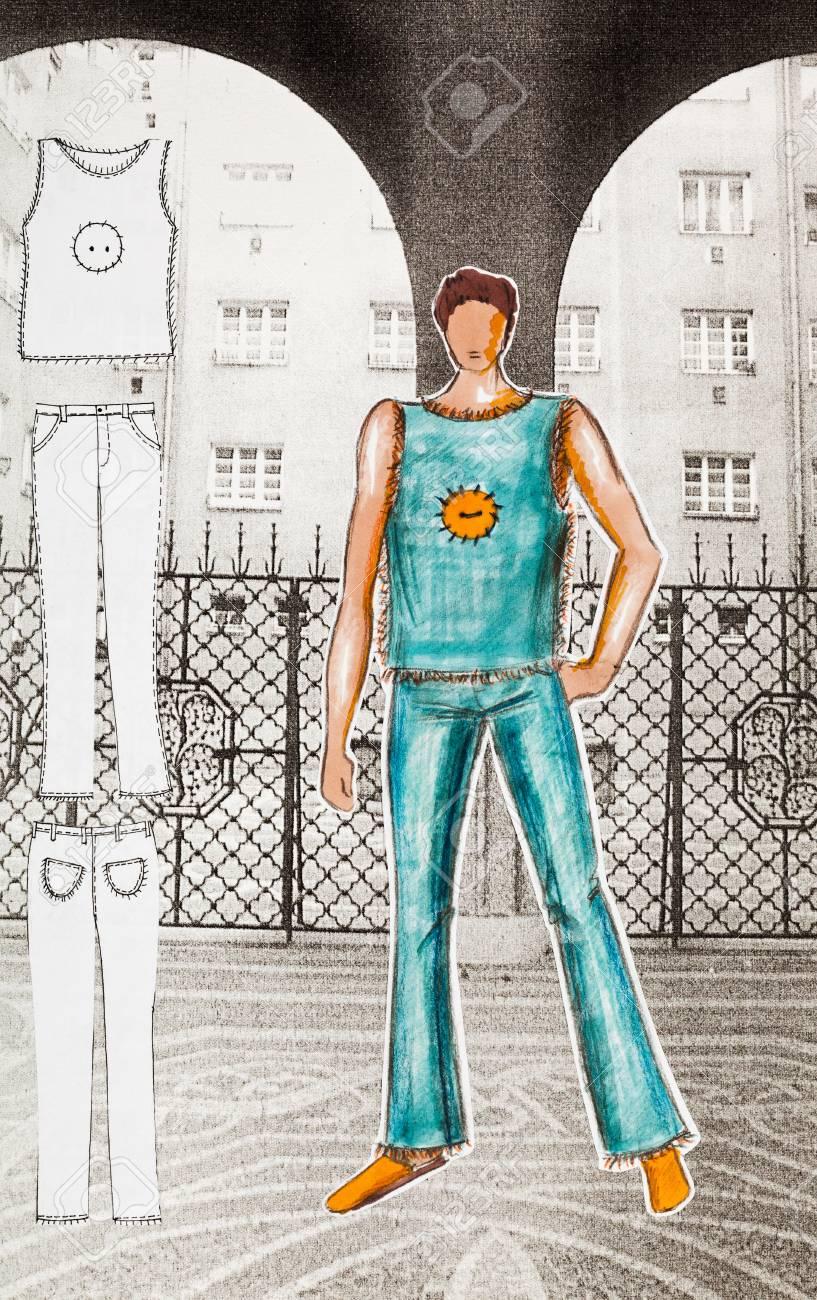 c78a3dba1 Modelo de ropa de mujer - Ropa de hombre de verano para jóvenes