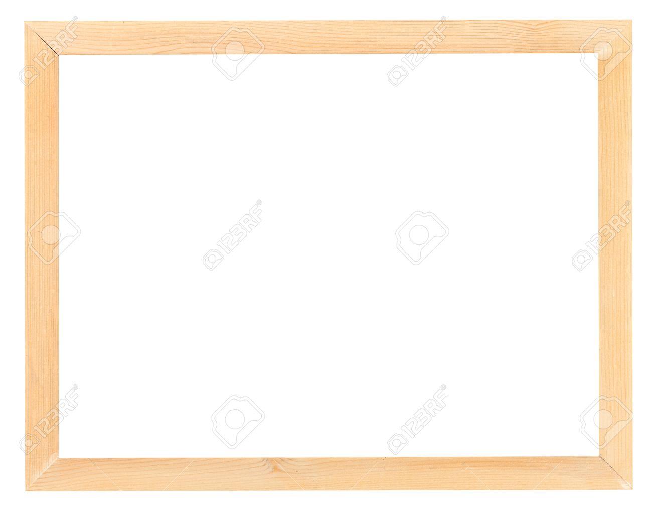 Moderne Schmale Licht Holz-Bilderrahmen Mit Ausschnitt Leinwand ...