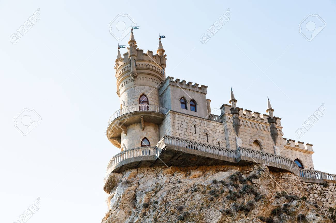 The Swallows Nest Haspra Ukraine Atlas Obscura