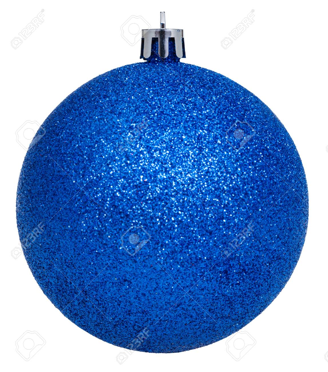 christmas decorations xmas dark blue ball isolated on white background stock photo 42692440