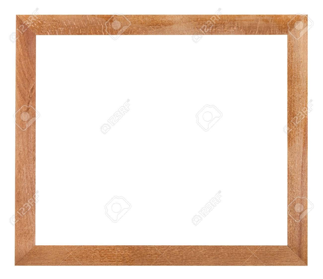 Moderne Einfache Flache Holz-Bilderrahmen Mit Ausgeschnitten ...
