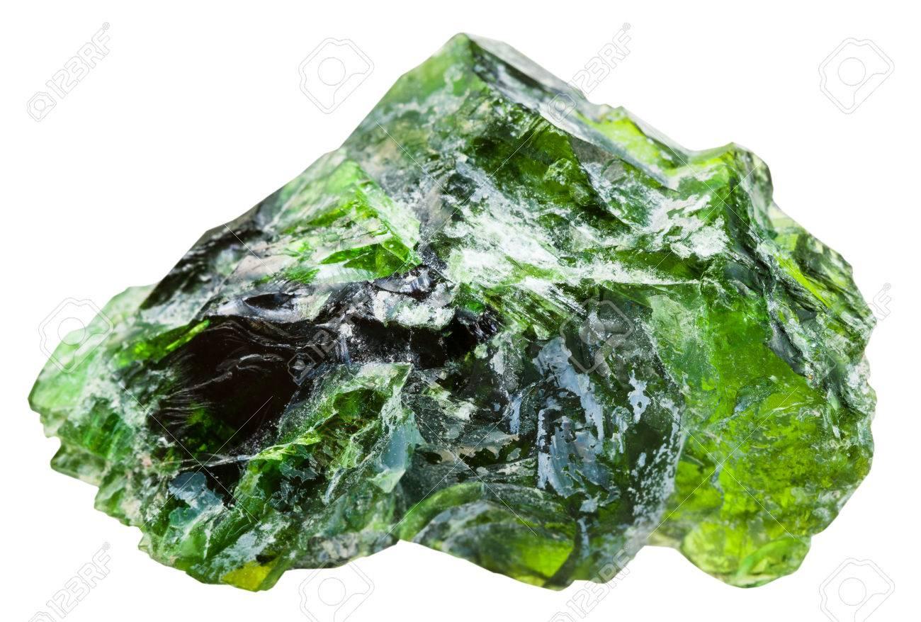 Piedra preciosa Cromodiópsido
