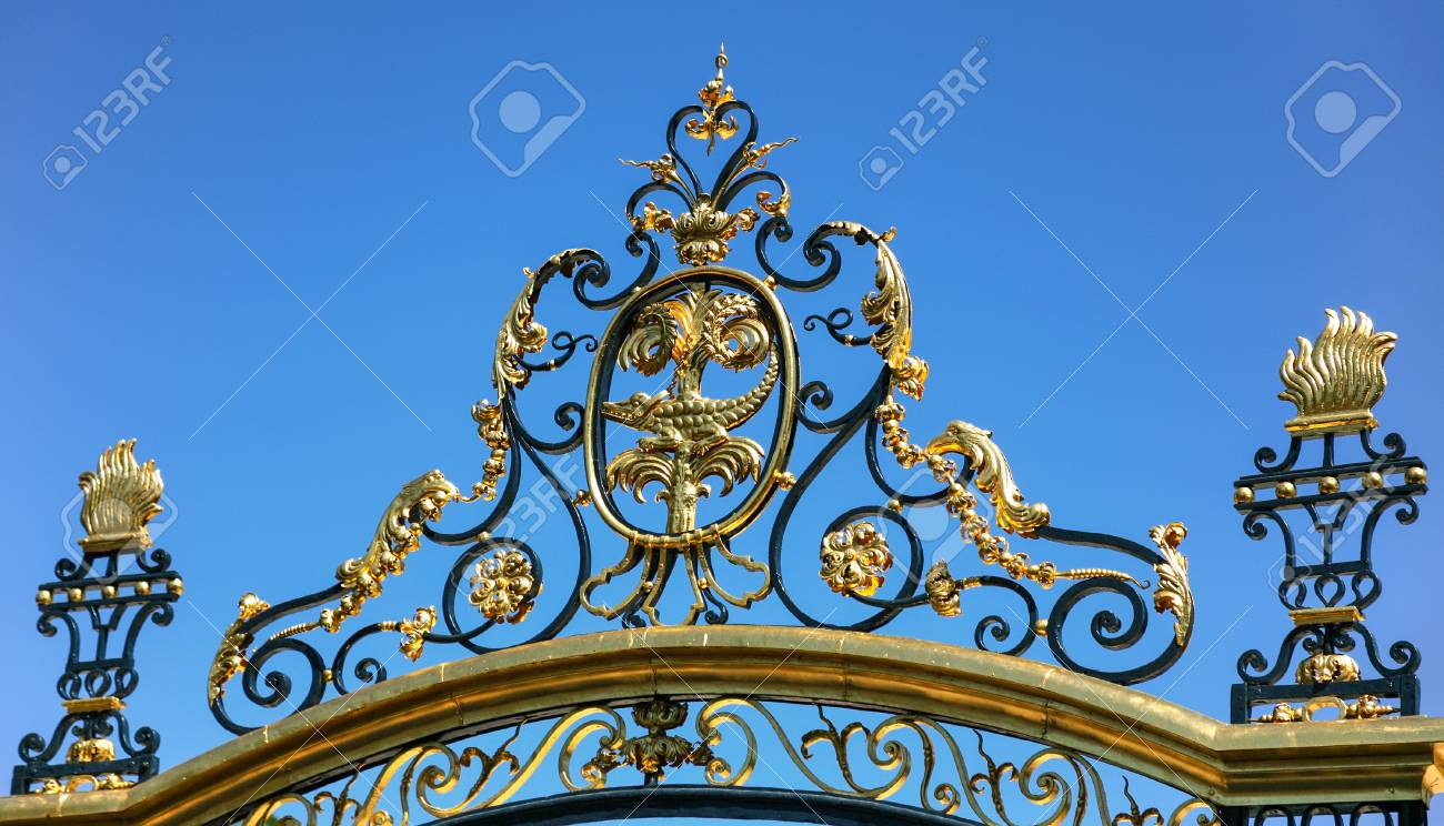Travel To Provence, France - Decoration Of Gate Of Ancient Jardins ...