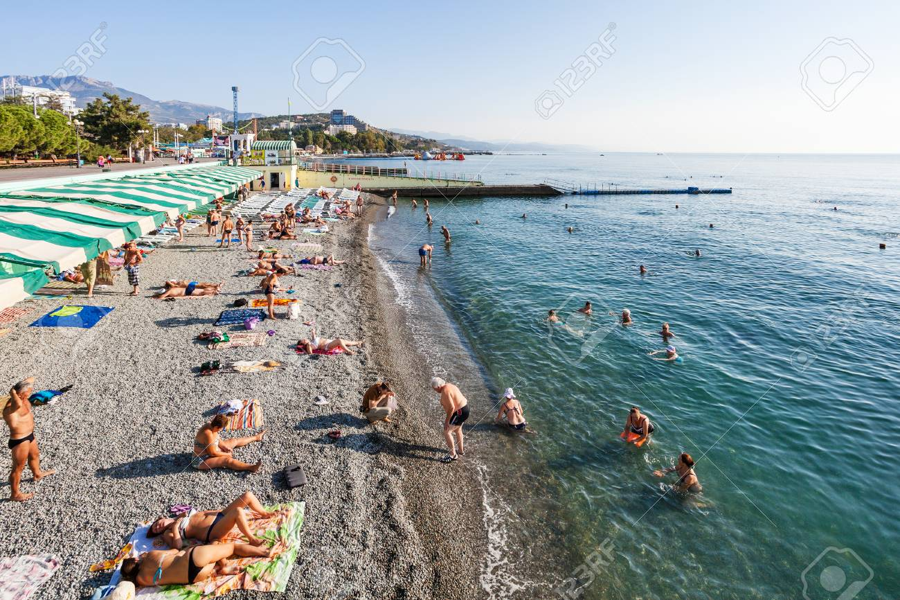 Southern coast of Crimea, Alushta. Beaches, vacation by the sea. Guest reviews. Alushta: Hotels with a private beach 27