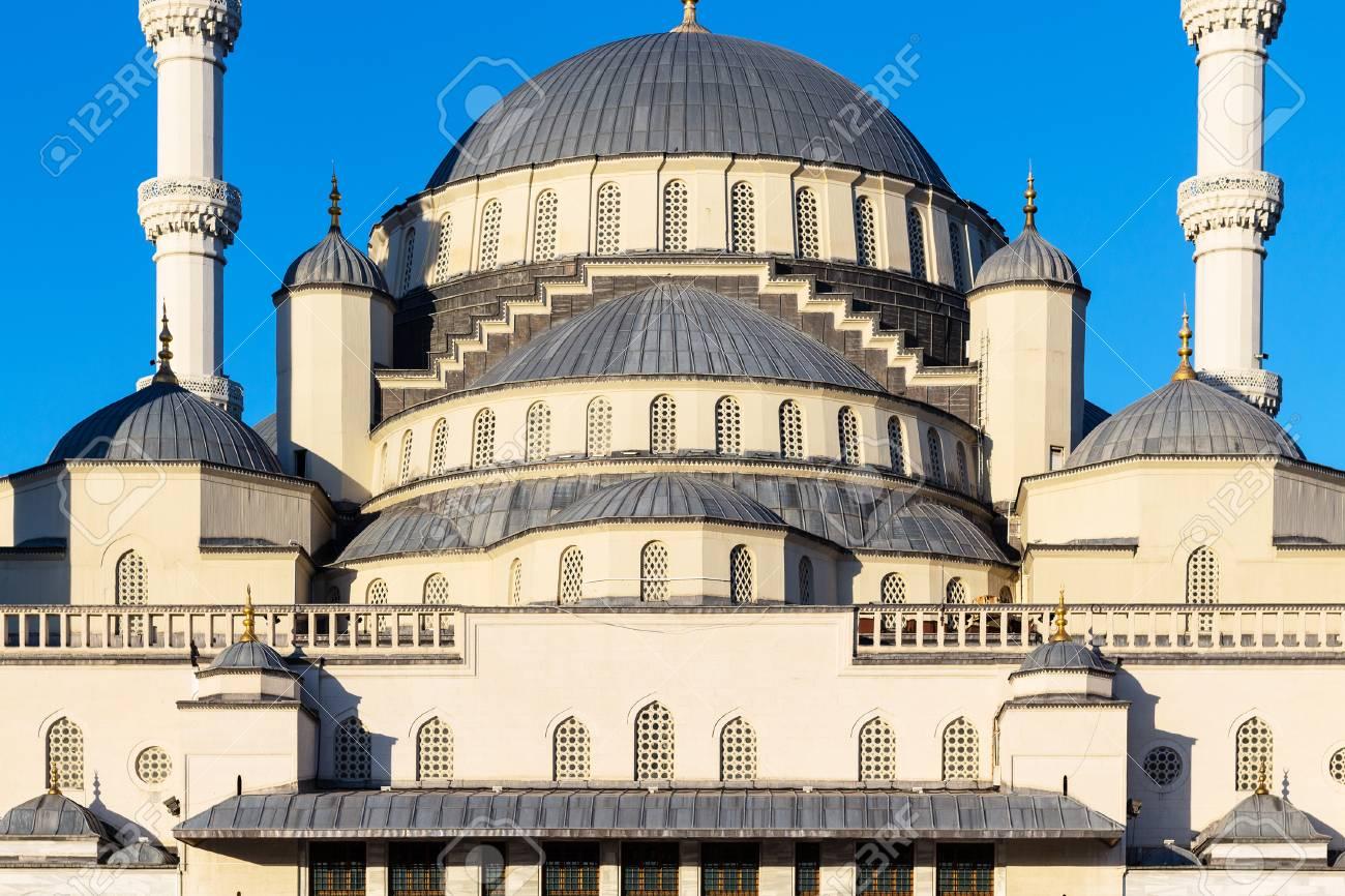 Travel to Turkey - dome of Kocatepe Mosque in Ankara city - 102028493