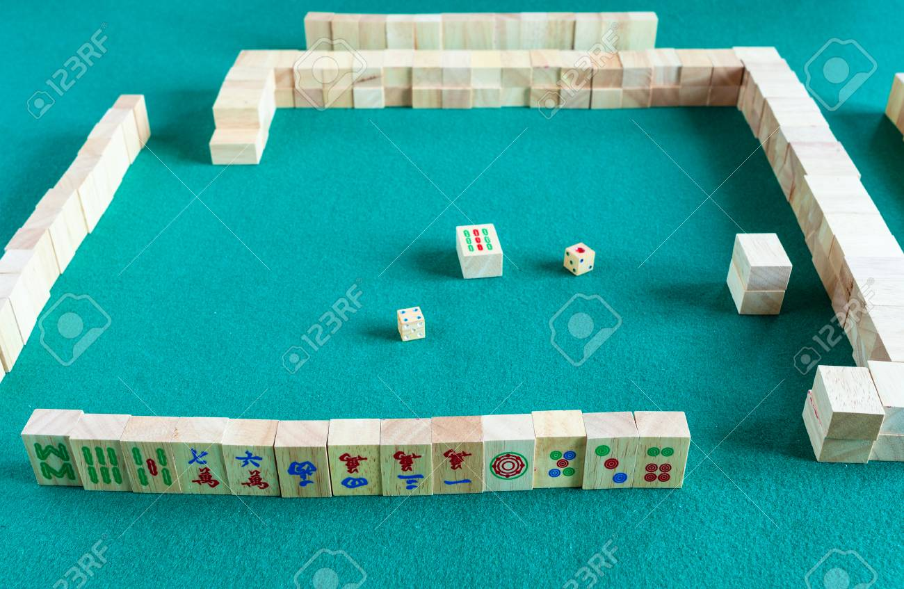Player S Set At The Beginning Of Mahjong Game Tile Based Chinese