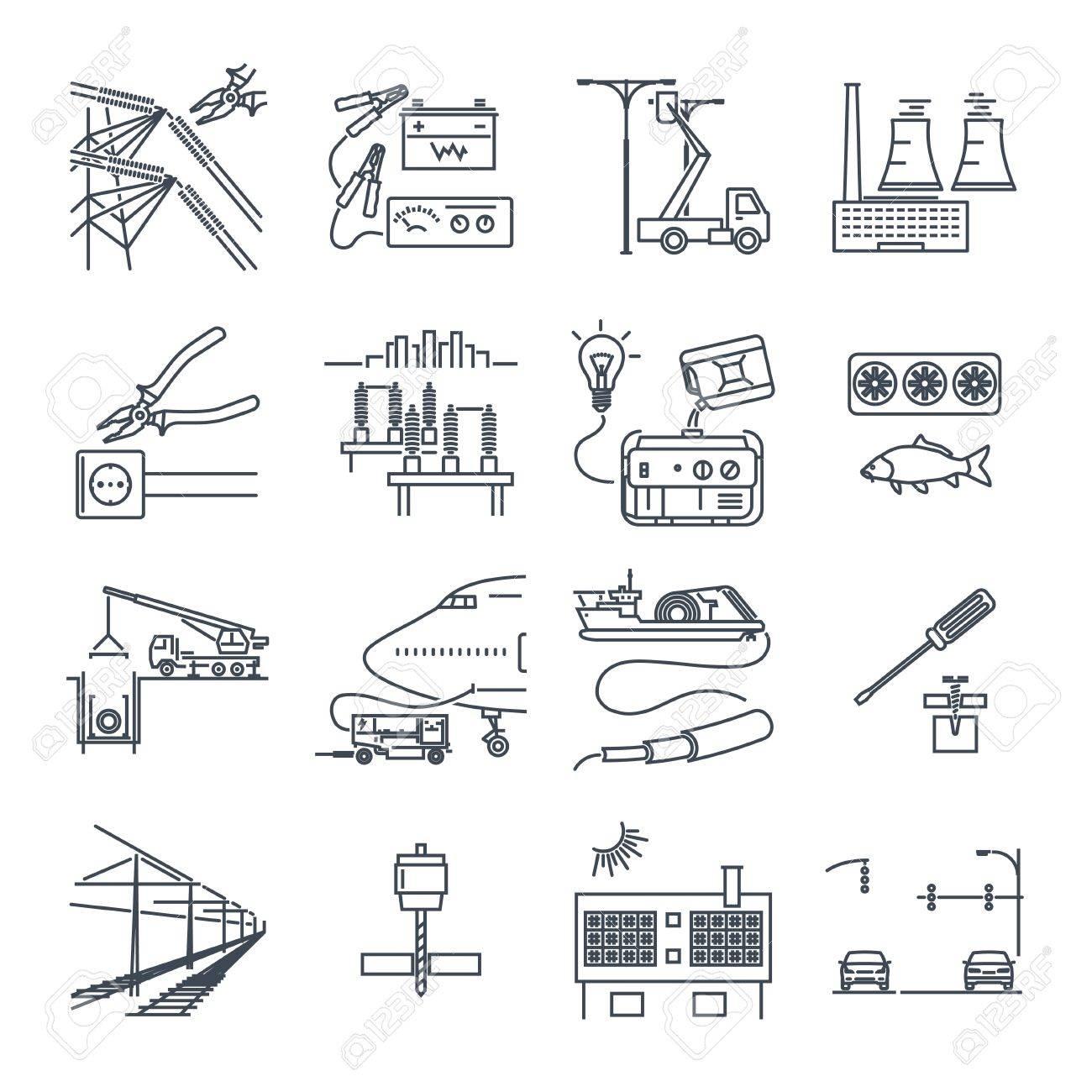Groß Elektrische Simbolen Bilder - Schaltplan Serie Circuit ...