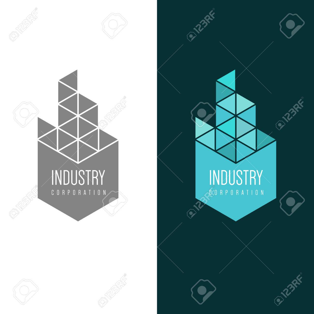 logo inspiration for construction companies, real estate agencies