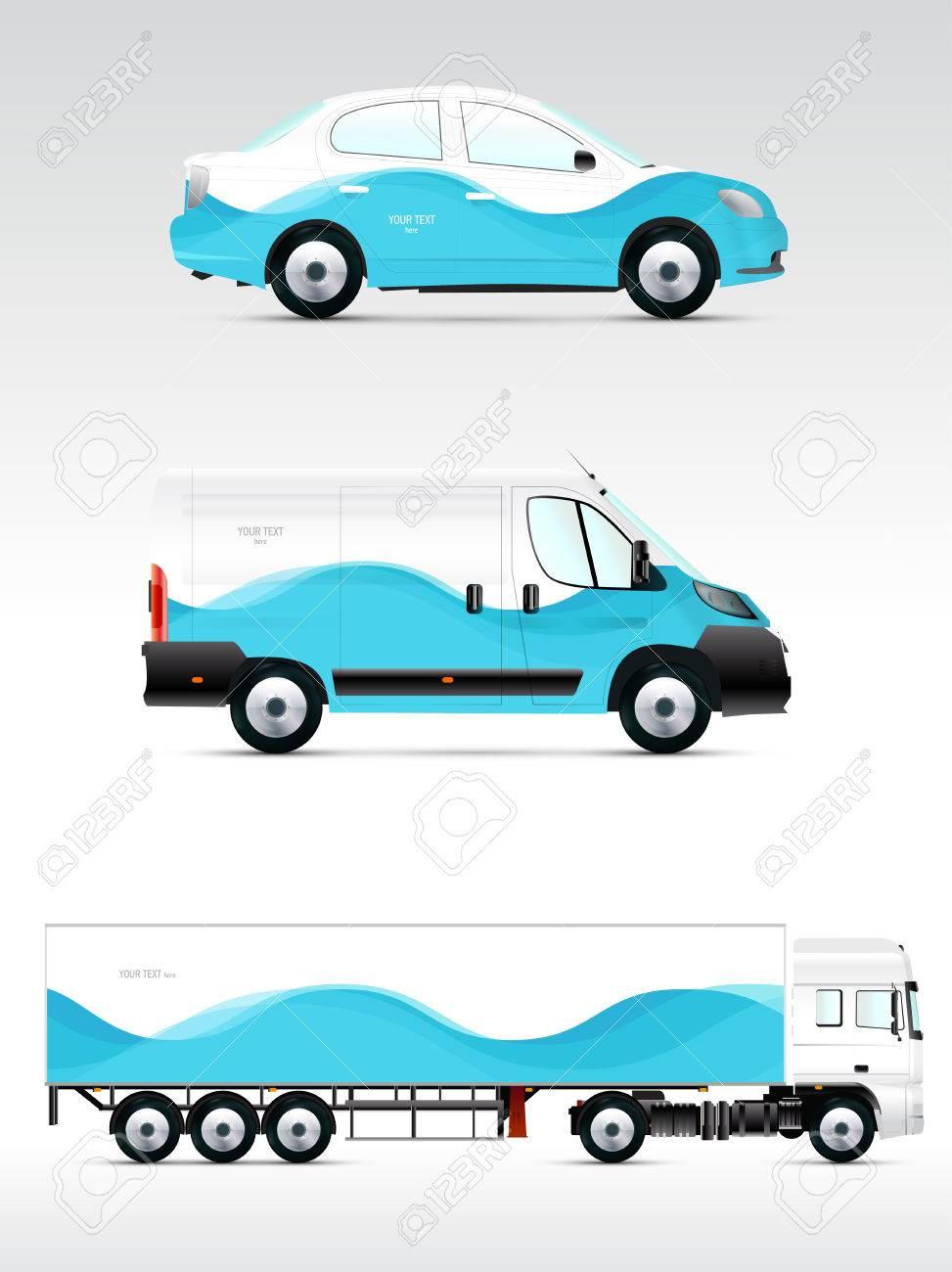 Atemberaubend Vektor Fahrzeug Vorlagen Ideen - Entry Level Resume ...