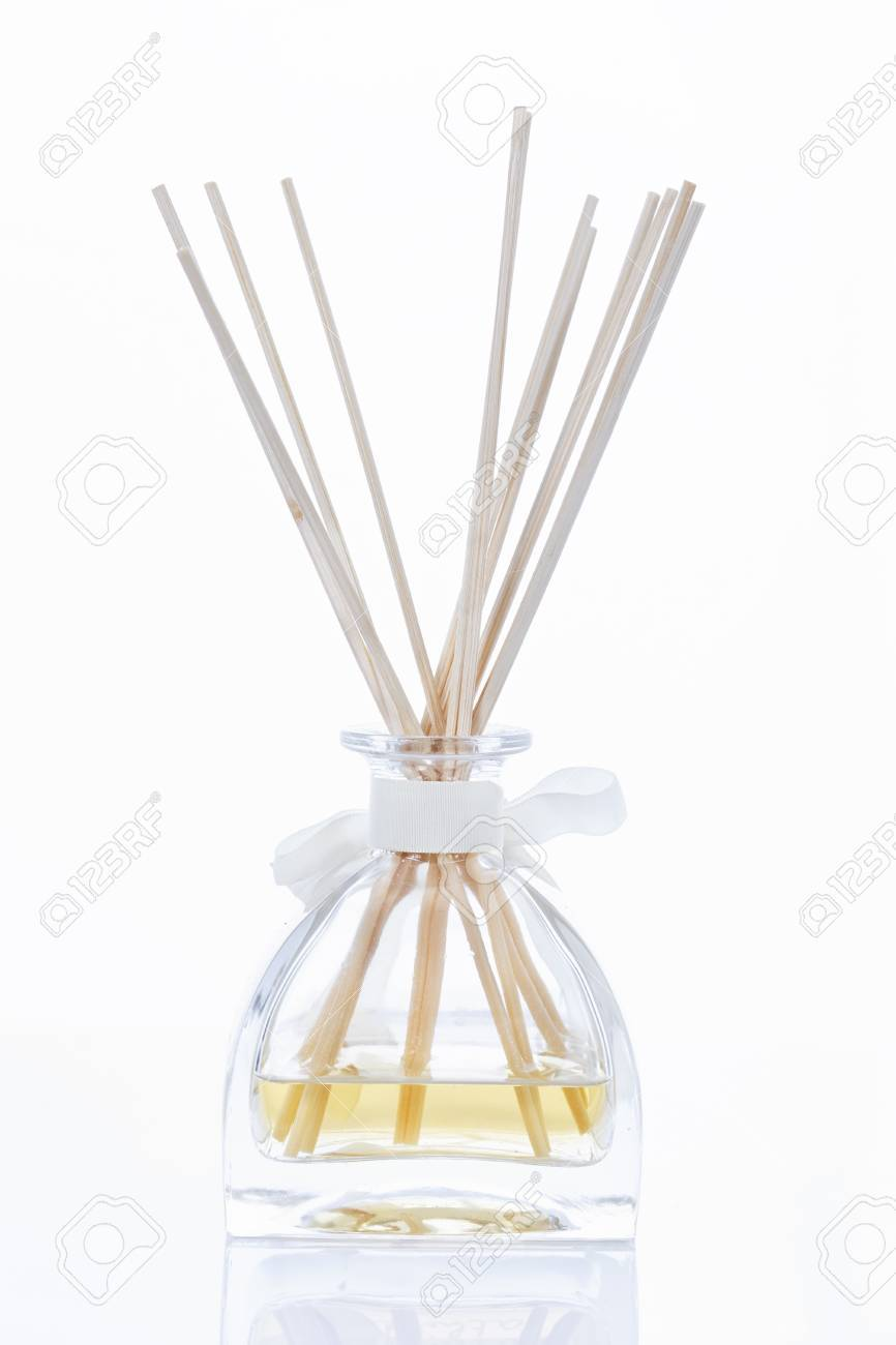 Incense sticks on bedside table Stock Photo - 13595634