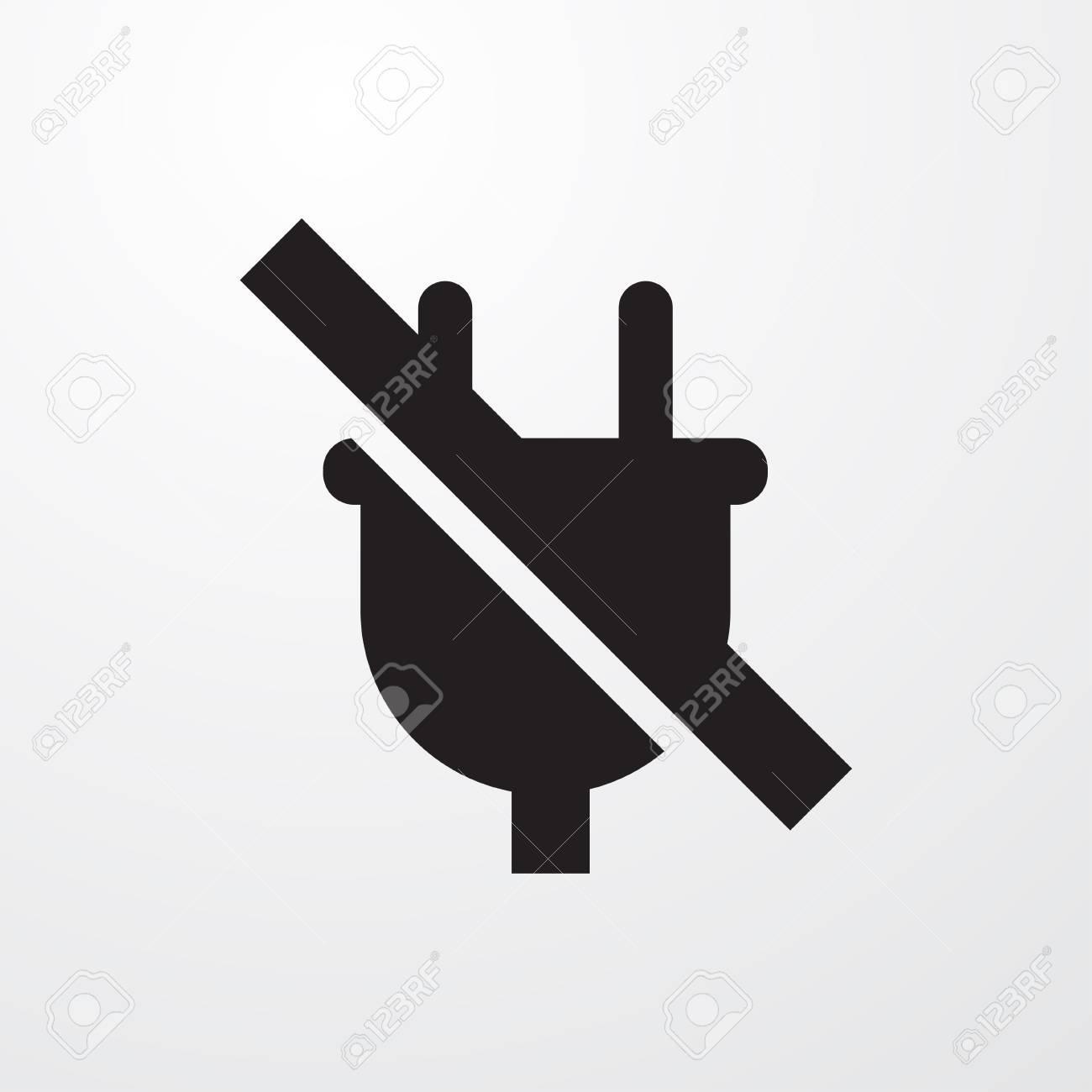 No plug symbol clipart library no plug icon illustration isolated vector sign symbol royalty free restart symbol green plug buycottarizona