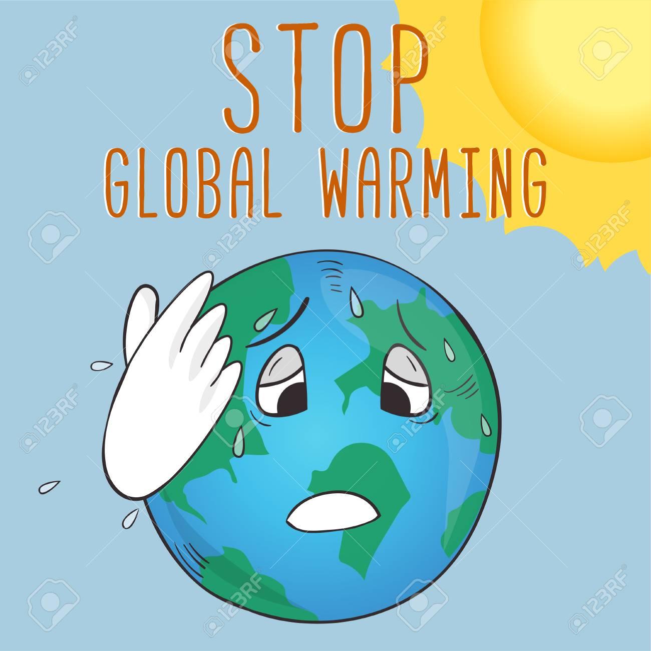 Tren Untuk Poster Stop Global Warming Koleksi Poster