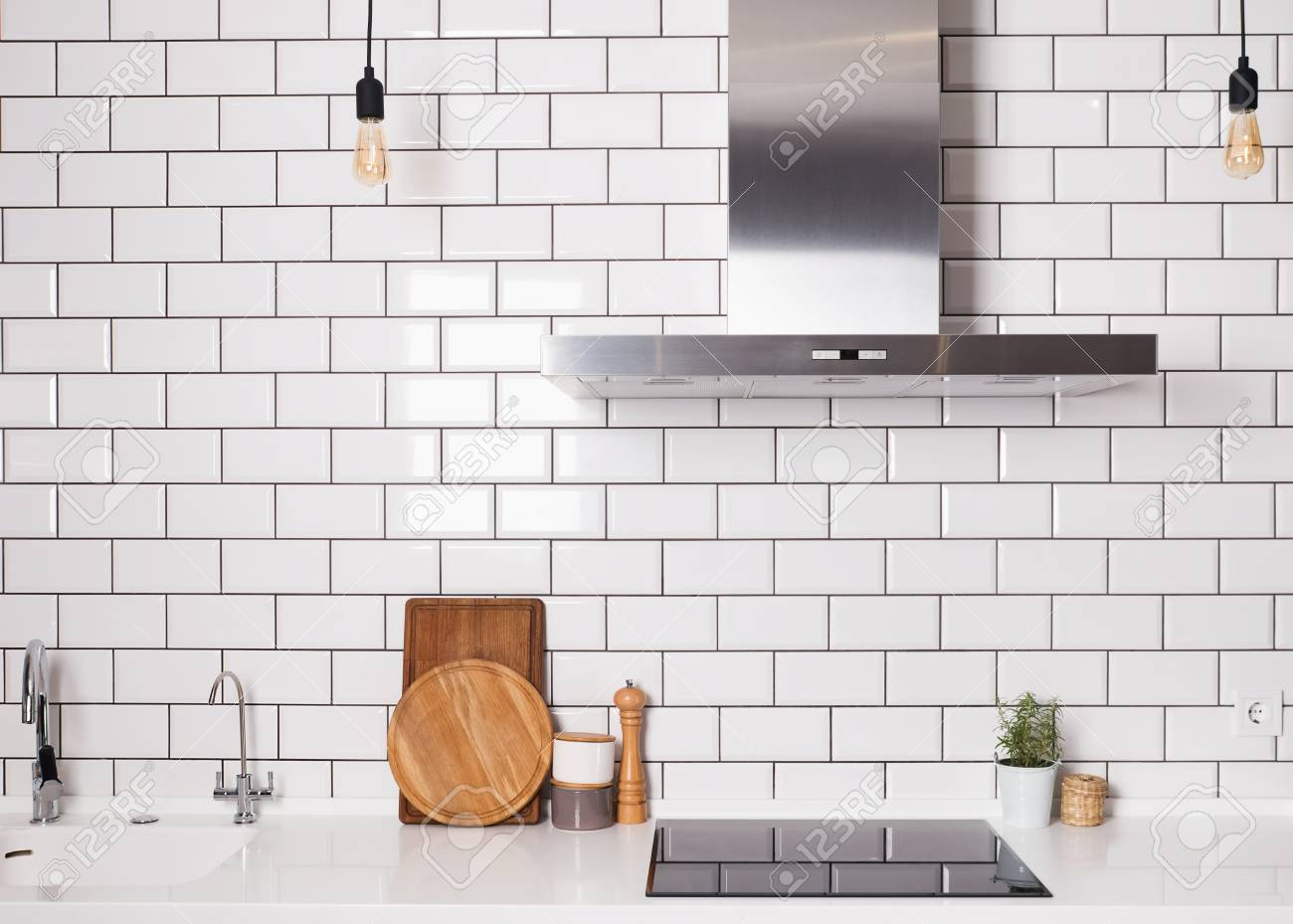 25 Best Kitchen Backsplash Ideas Tile Designs For Kitchen White Brick Tiles In Kitchen