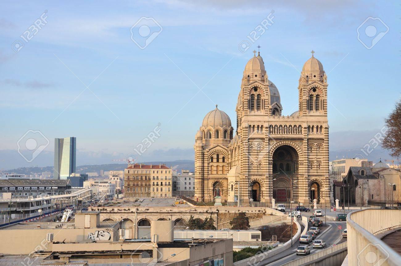 Cathedrale de la Major, Marseille, France Stock Photo - 7461960