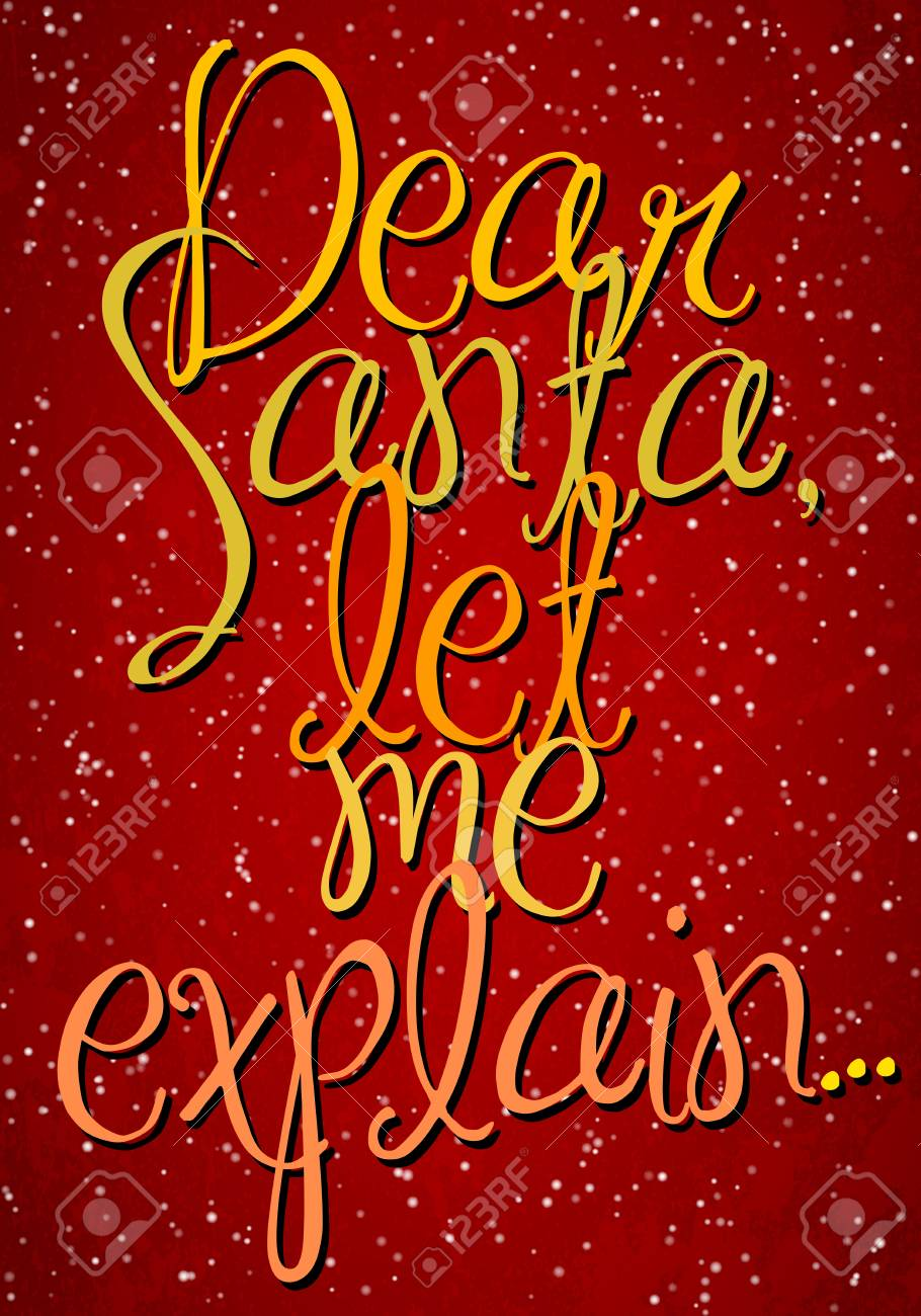 Vintage vector typography Christmas poster Stock Vector - 16989529