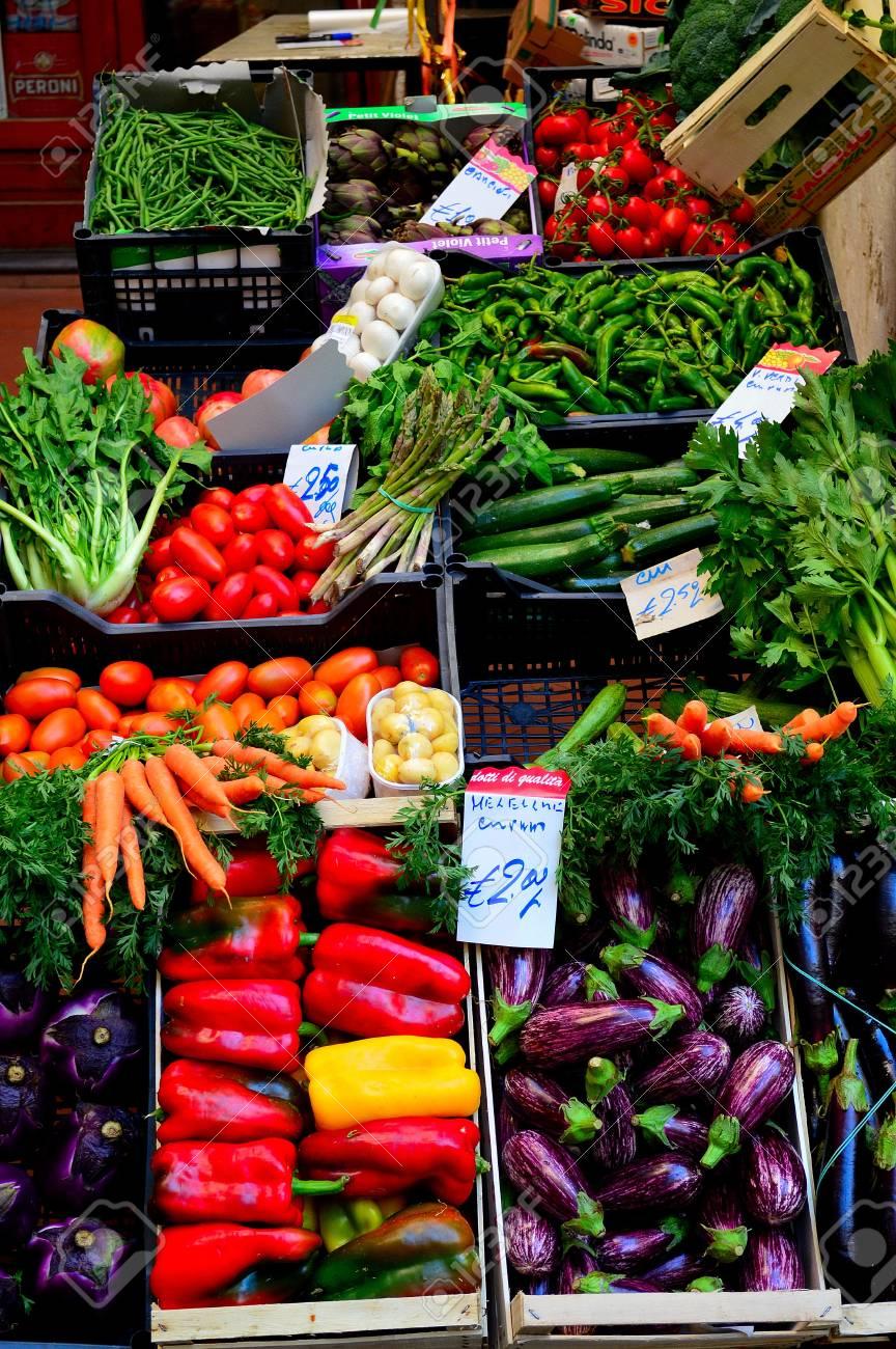 vegetable market Stock Photo - 18339956