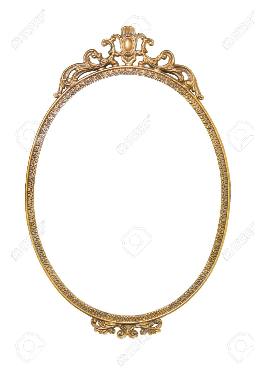 golden antique frame stock photo 18247896