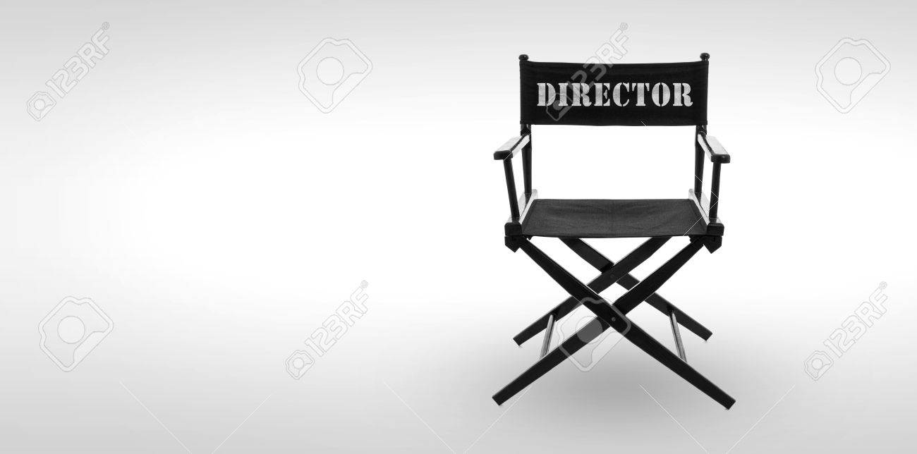 Director chair -including clipping path Stock Photo - 30198897