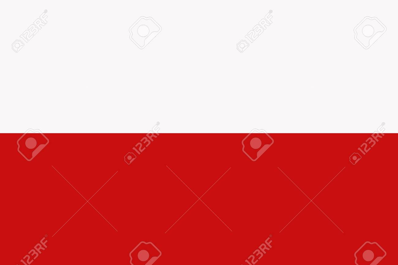 poland flag poland national flag illustration symbol stock photo