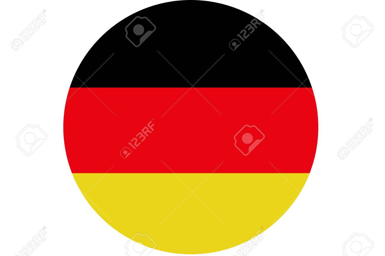 germany flag germany national flag illustration symbol circle