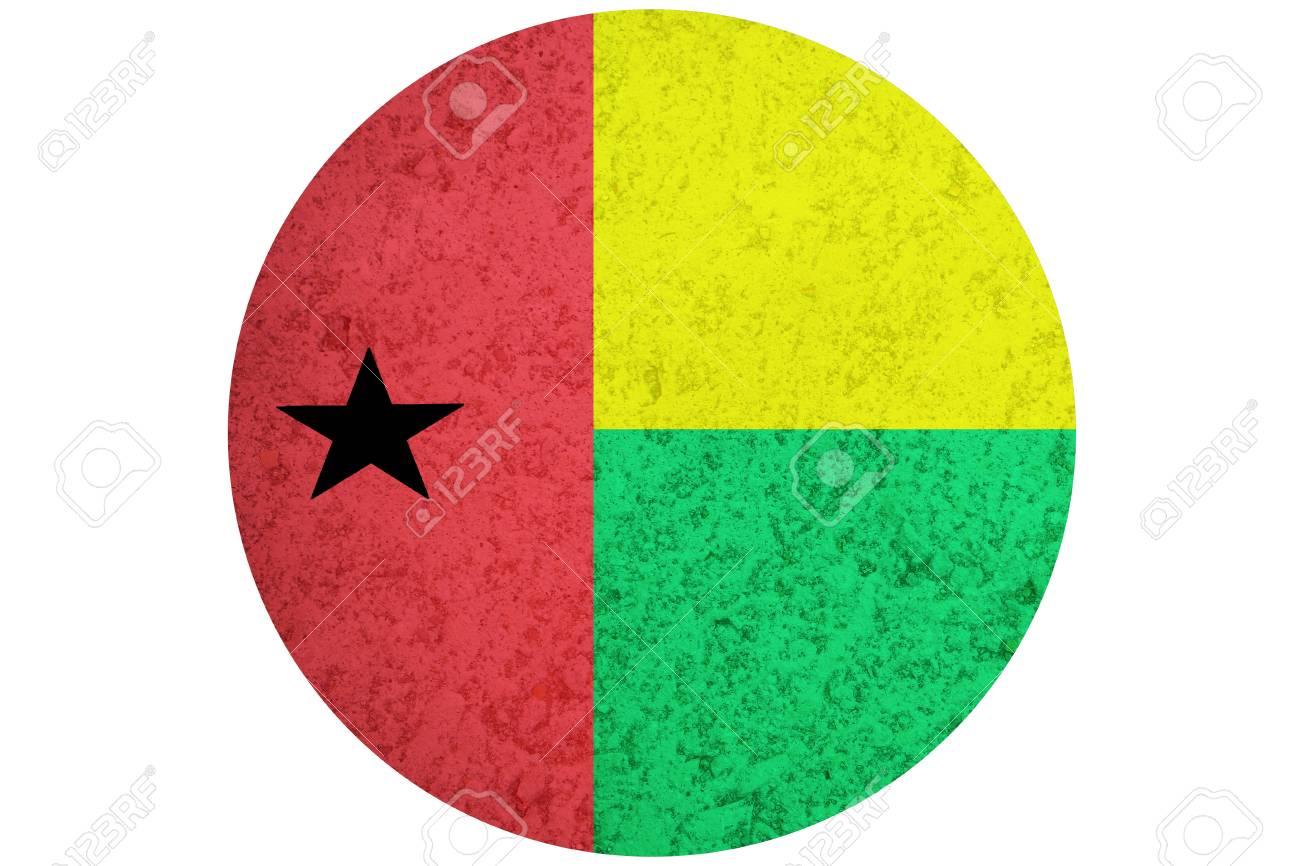 ギニア ・ ビサウの旗、3 D ギニ...