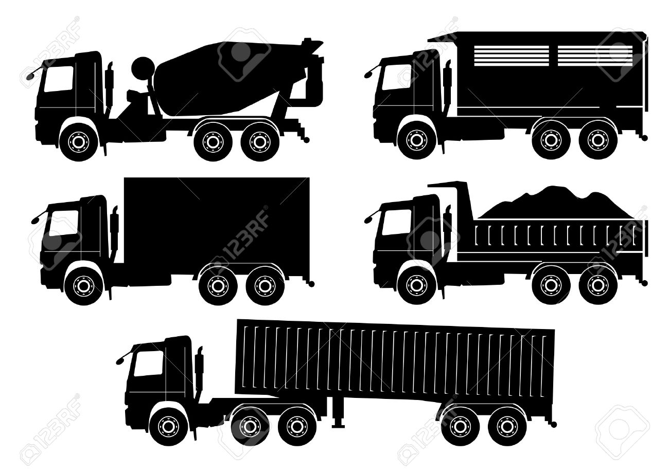 truck vector royalty free cliparts vectors and stock illustration