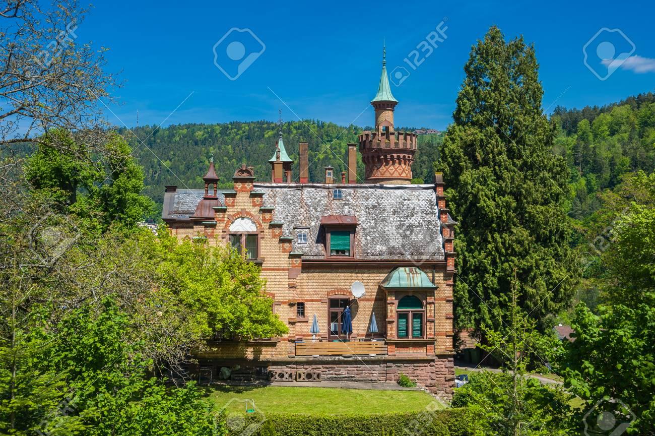 Historische Villa In Bad Liebenzell, Schwarzwald, Baden-Württemberg ...