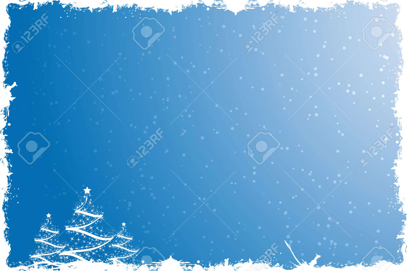 Three Christmas tree with star and decoration Stock Vector - 3631717