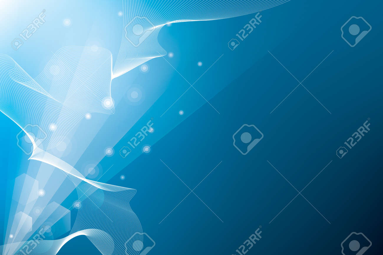 Abstract background with rays and optical flares Stock Photo - 6821770