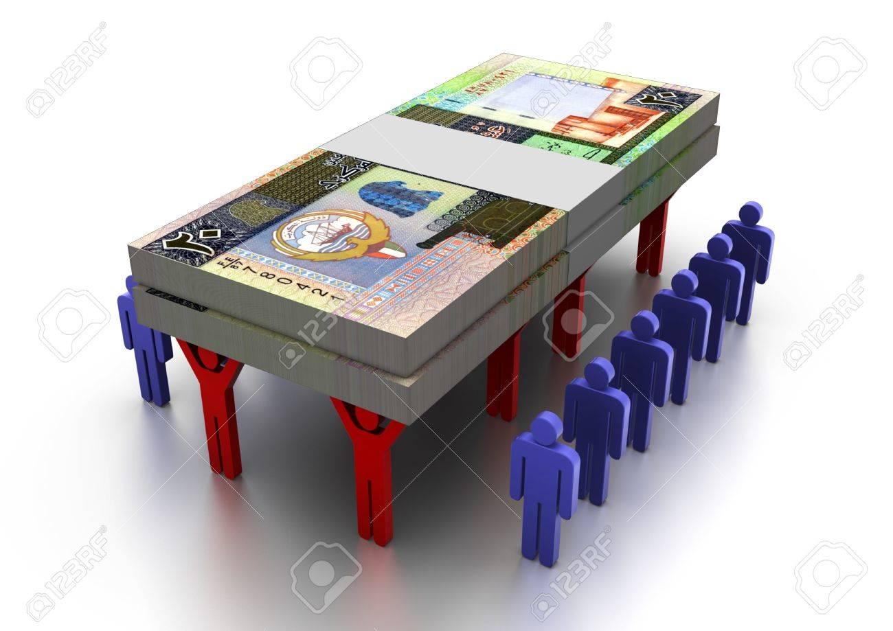 3D People Carring Money Kuwait - 17010004