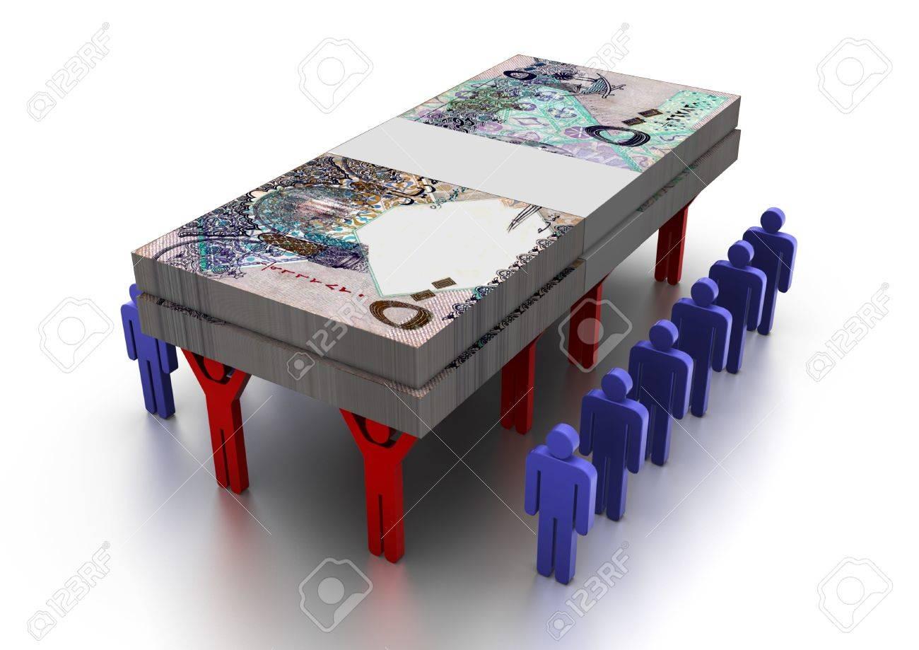 3D People Carring Money Qatar - 17010002
