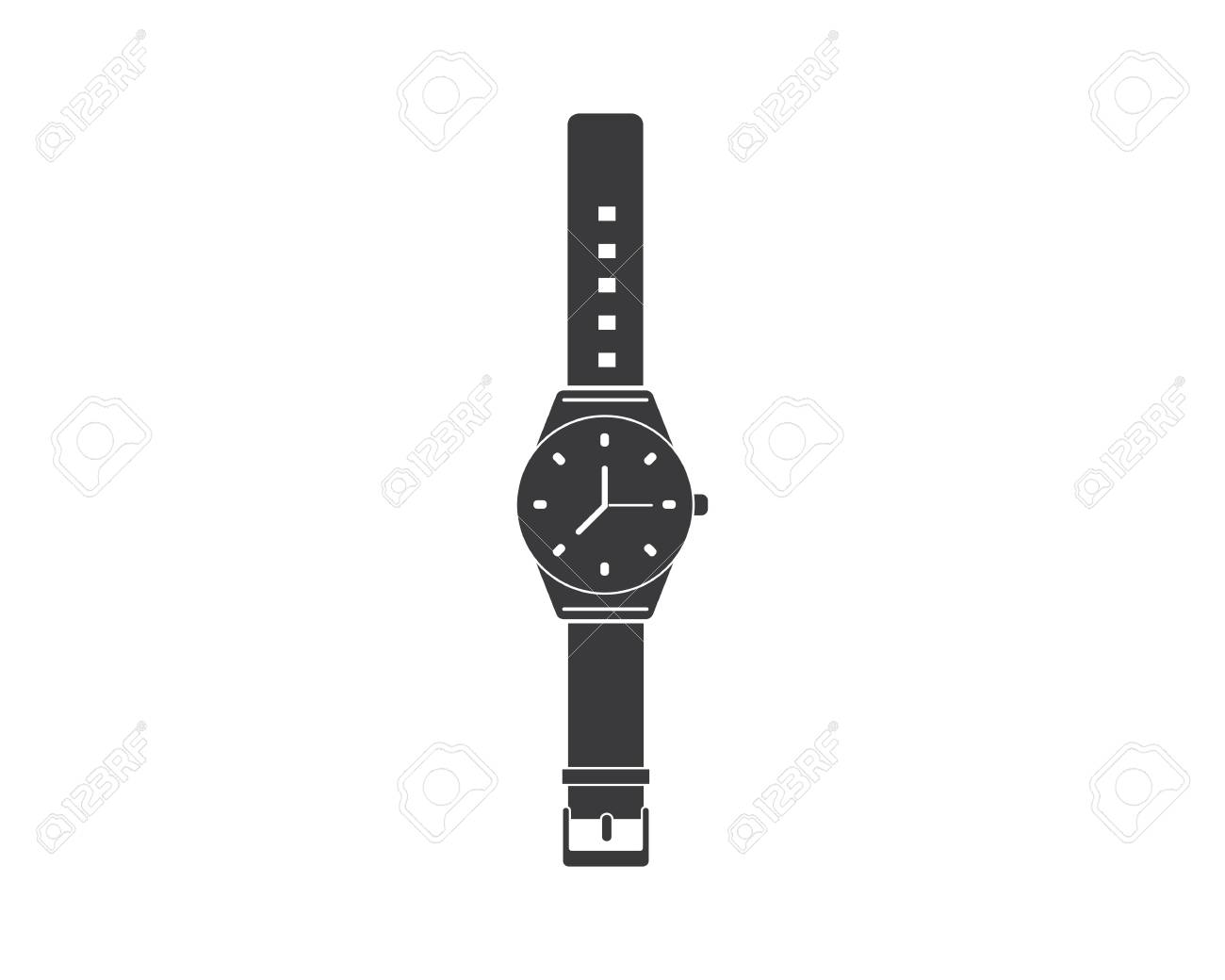 Wristwatch Icon Vector Template Design Template Royalty Free Cliparts Vectors And Stock Illustration Image 120072528