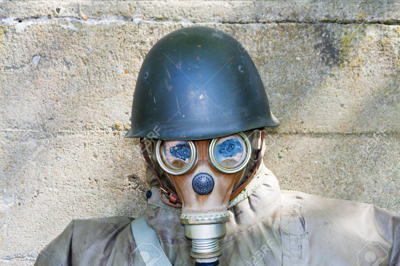 Old chemical protection, world war Stock Photo - 7234161