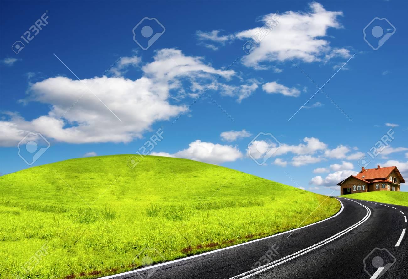 Summer landscape Stock Photo - 7255560