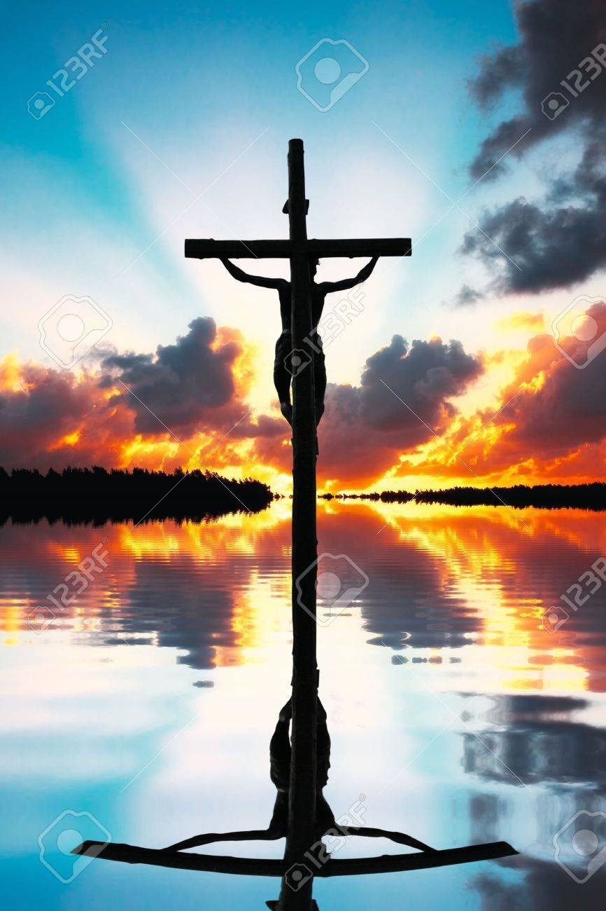 crucifixion of jesus christ stock photo picture and royalty free