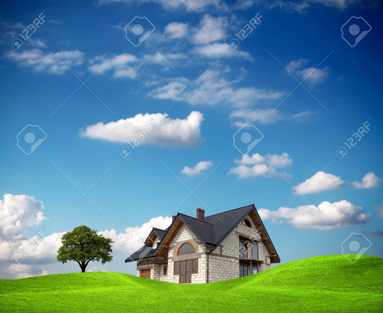 The investment in environmental site Stock Photo - 9571312