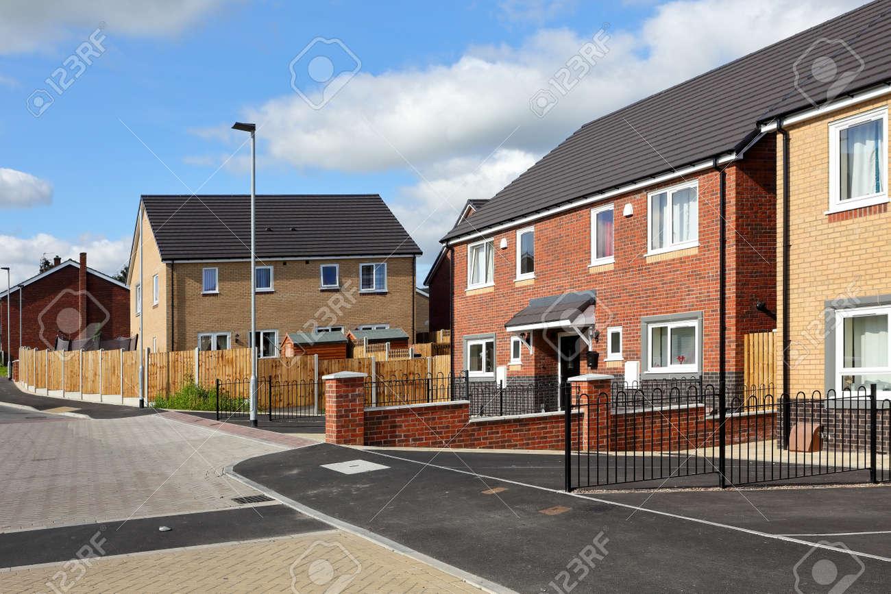 Modern english street view - 165528803
