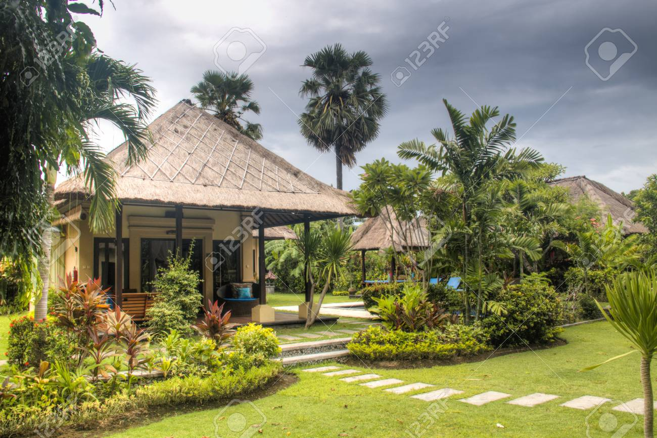 Fancy hotel room with private swimming pool in Pemuteran in Bali,