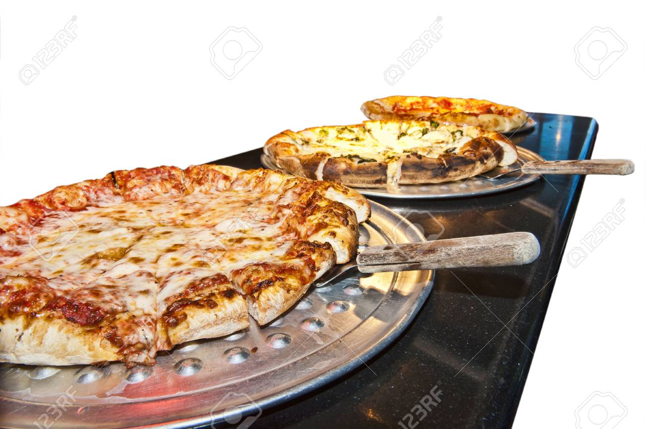 Pizzas Up Stock Photo - 14167012