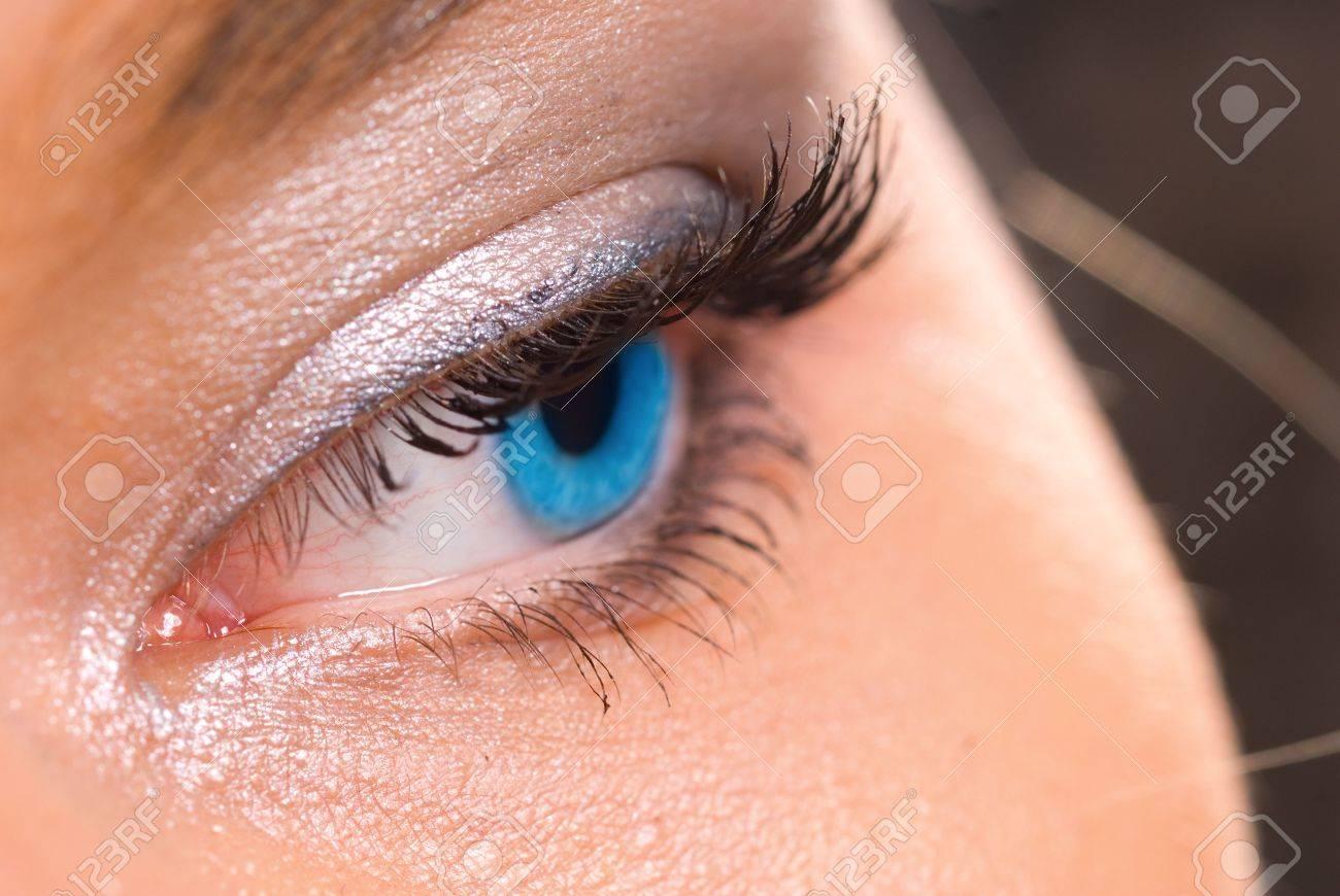 beautiful woman's eye Stock Photo - 2214804