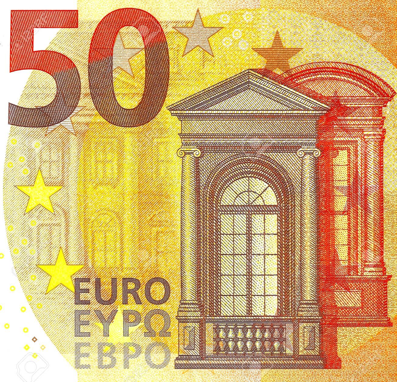 Mise Au Point Selective Du Nouveau Billet De Banque De 50 Euros 2017