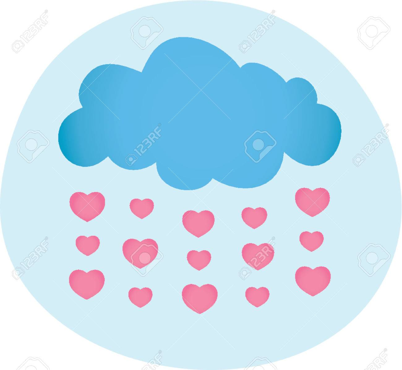 Valentines Day Love Is In The Air Royalty Free Cliparts Vectors