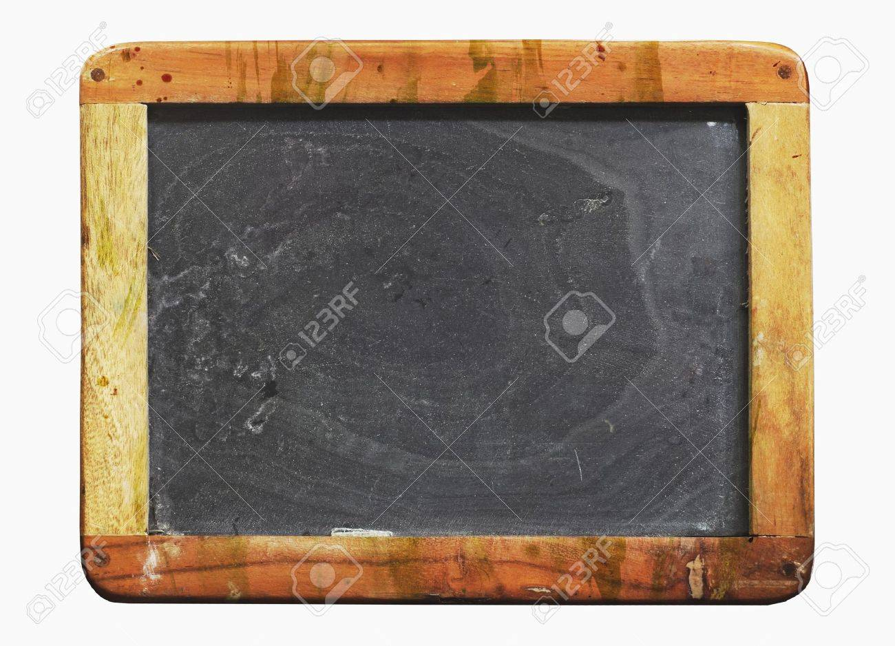 Schultafel mit schwamm leer  Jahrgang Schultafel, Mit Farbe Bespritzt, Getragen Und Grunge ...