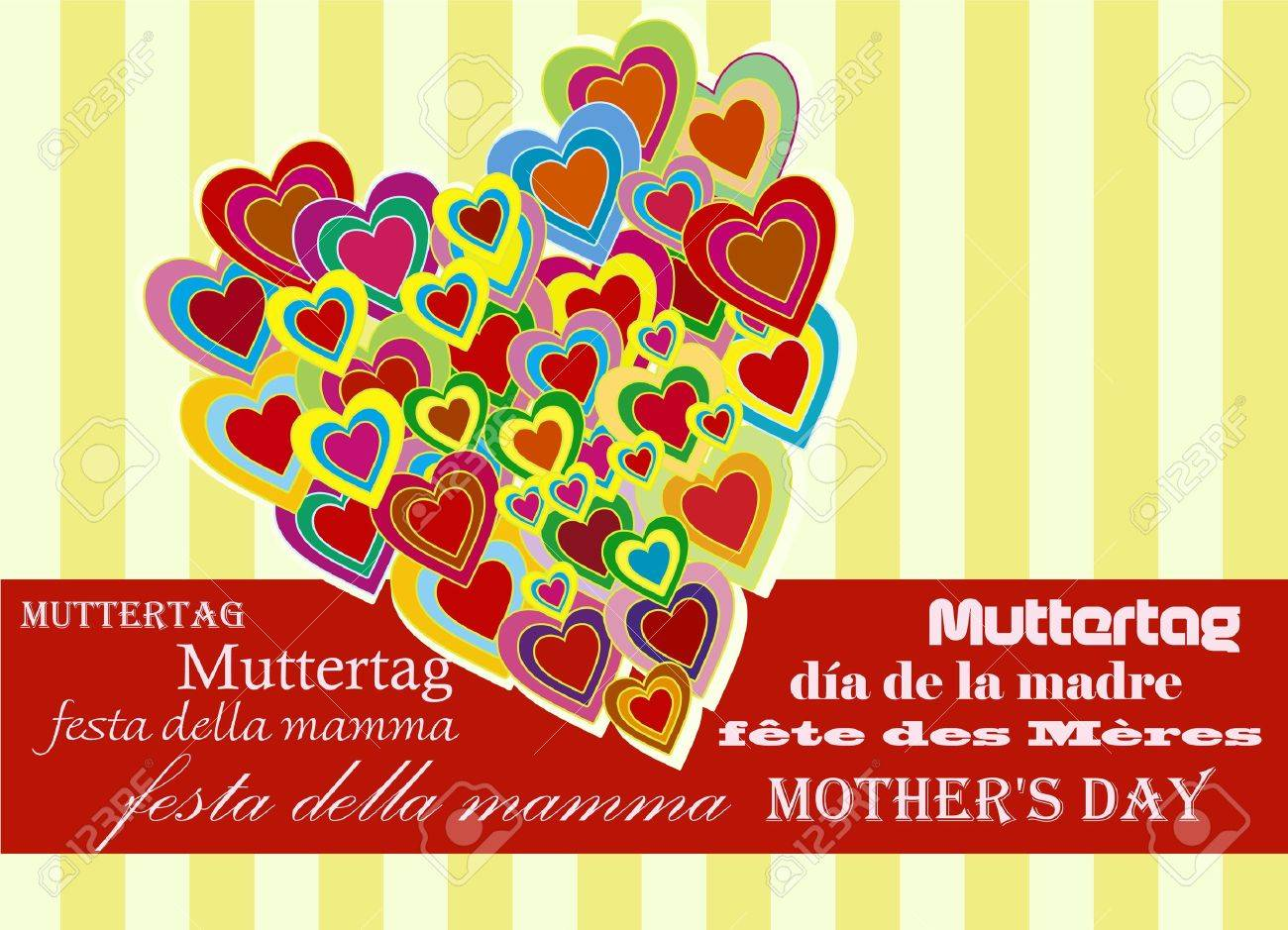 mothers day Stock Vector - 9464111