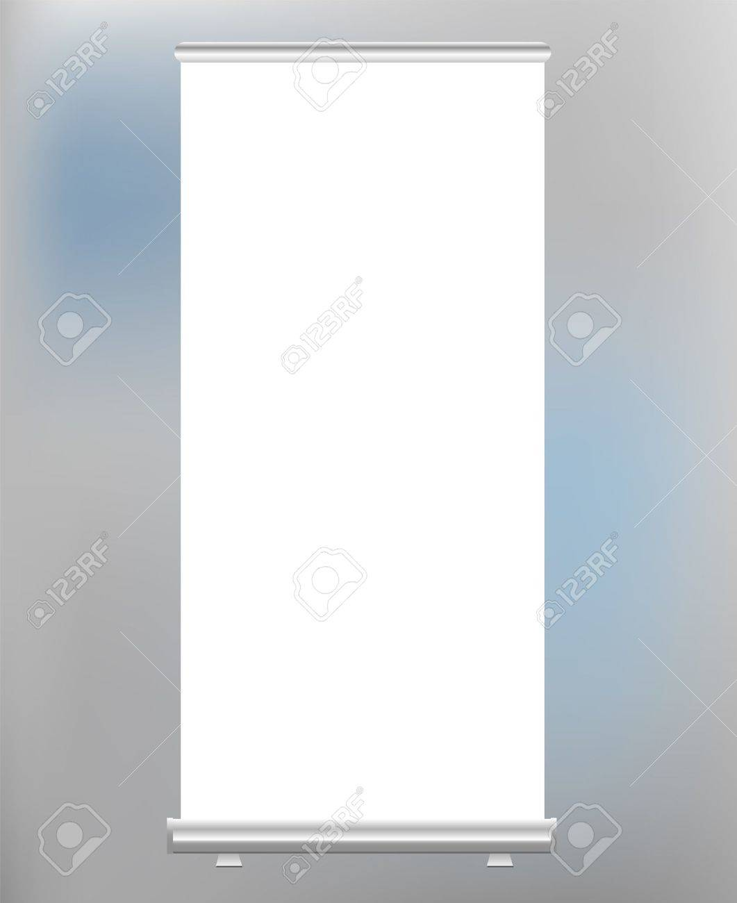 roll up banner display, blank, vector fromat Stock Vector - 12066149